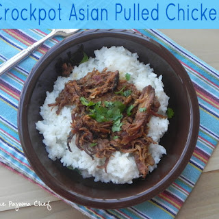 Crockpot Asian Pulled Chicken.