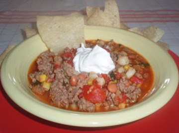 Famous Taco Soup Recipe