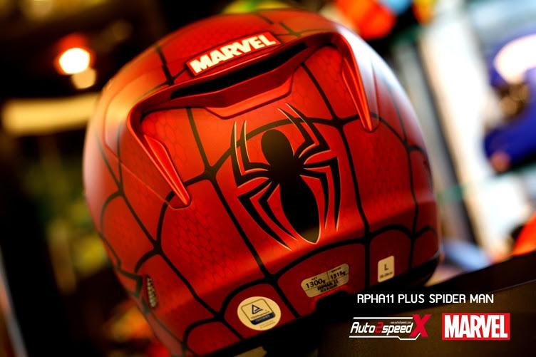 หมวกกันน็อค HJC RPHA11 SPIDER MAN