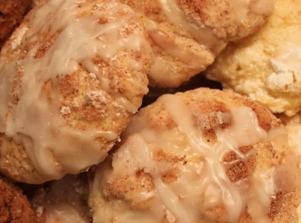 If you like cinnamon rolls, you should love these! Straight from the oven and drizzled with icing will have these cookies melting in your mouth!