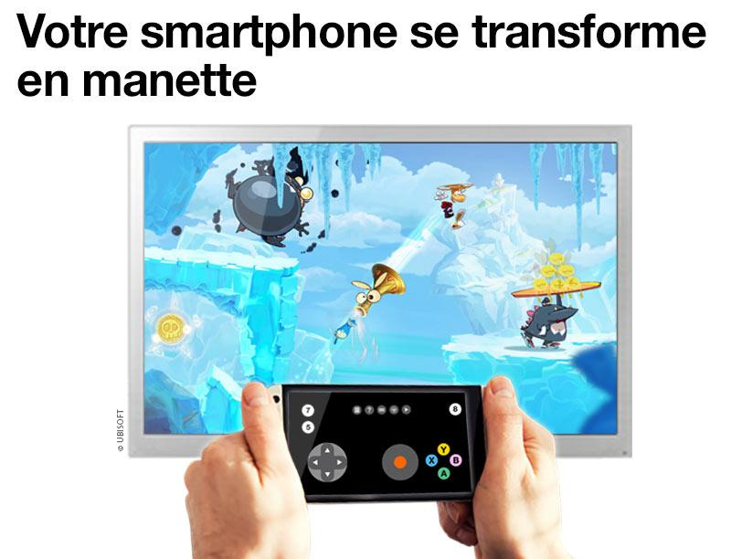 Manette TV d'Orange – Capture d'écran