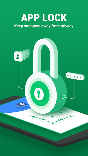 AppLock - Fingerprint, PIN & Pattern Lock 1.0.2 screenshots 1