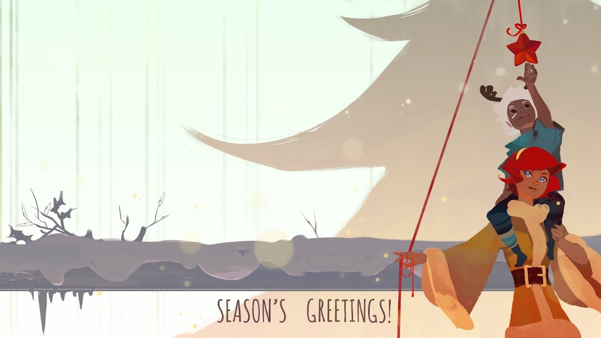Season greetings cards from the gaming industry neogaf unluckykate kristyandbryce Images