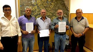 Miembros de la comisión gestora de la nueva Comunidad General