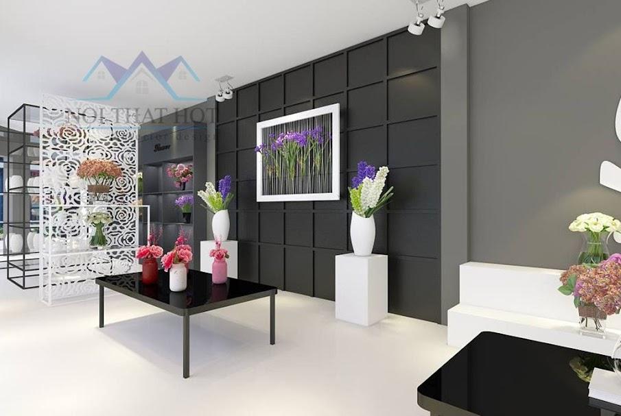 Thiết kế cửa hàng hoa tươi đẹp