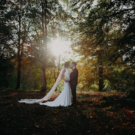 Autumn sun always brings out the colour :) by Kaspars Sarovarcenko - Wedding Bride & Groom ( wedding photographer limerick )