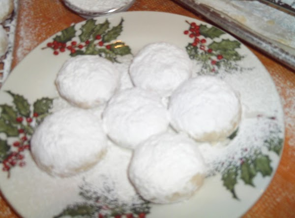 Kourambiathes/greek Cookies Recipe