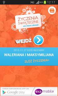 Vánoční přání Polskie Zyczenia - náhled