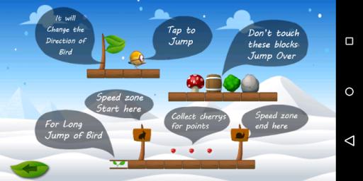 Hopping Bird Game - Hoppy Bird Adventure Game screenshots 1