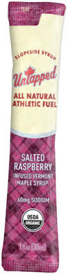 UnTapped Maple Syrup Salted Raspberry Infused Athletic Fuel Gel Packets - Box of 20 alternate image 1
