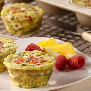 Mini Vegetable Frittatas.