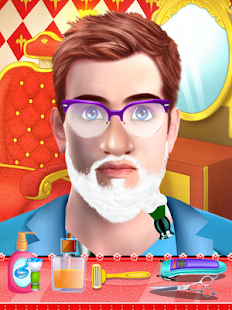 Santa claus games: Beard Salon for Santa - náhled