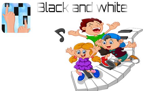 Piano Black And Bleu Tiles