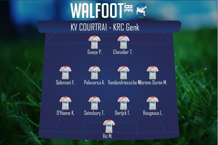 KV Courtrai (KV Courtrai - KRC Genk)
