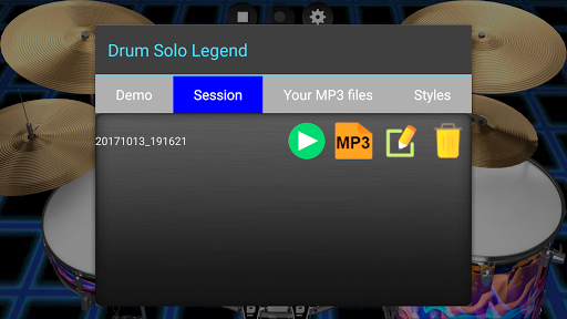 Drum Solo Legend ud83eudd41 The best drums app 2.4 screenshots 8