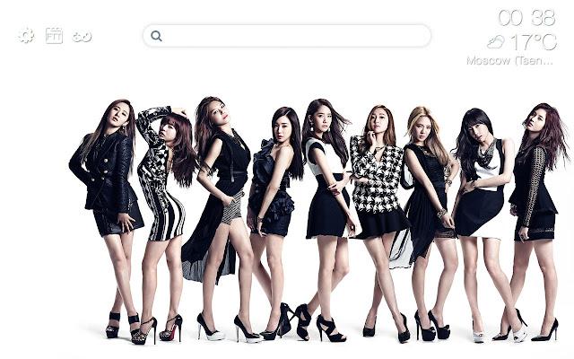 K-pop HD new free tab theme