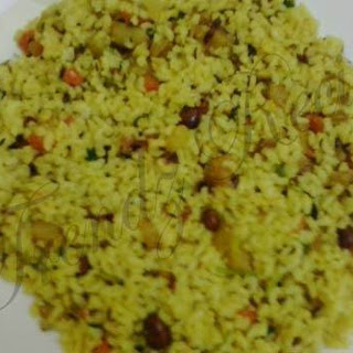 Potato Fried Rice Recipe | Aloo Rice