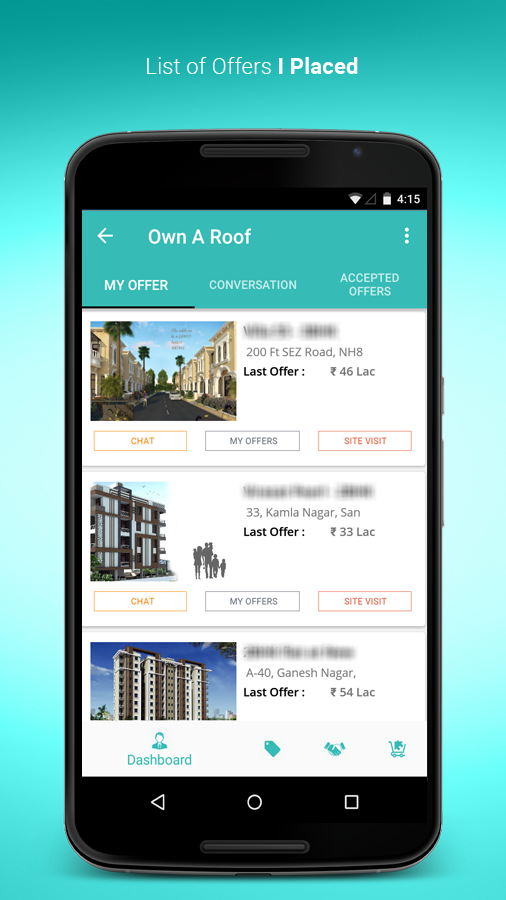 Own A Roof - Property Search- screenshot