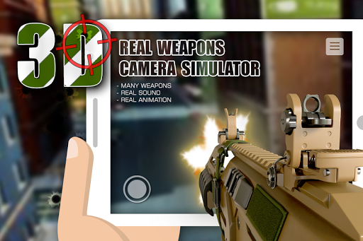 Real weapons camera simulator