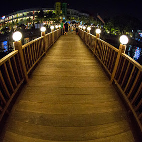 Ancol Beach by Henky Tjahja - Buildings & Architecture Bridges & Suspended Structures ( pwcbridges )