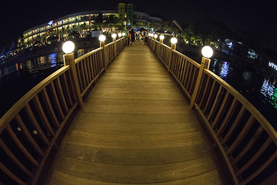 Ancol Beach by Henky Tjahja - Buildings & Architecture Bridges & Suspended Structures ( pwcbridges )