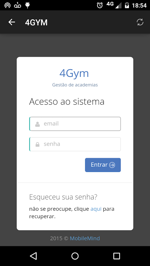 Academia College GYM- screenshot