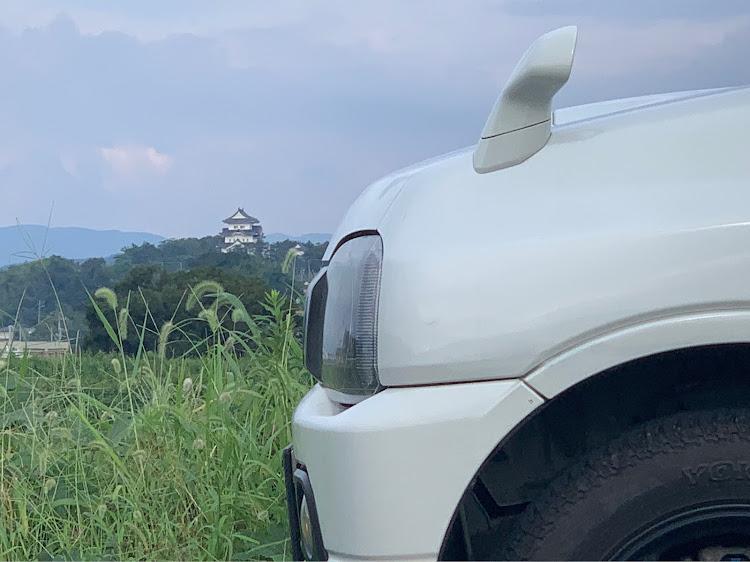 ジムニー JB23Wのパク号,伊賀上野城,iPhoneXsに関するカスタム&メンテナンスの投稿画像1枚目