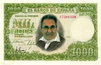 Photo: El billete de 1000 Mocés