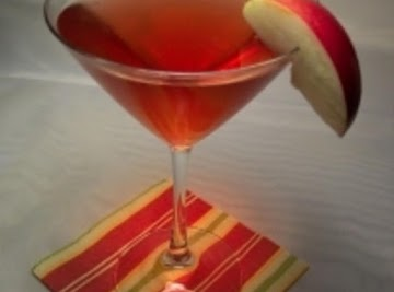 Perfect Red Apple Martini Recipe