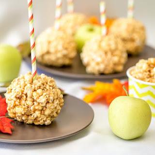 Caramel Apple Popcorn Balls