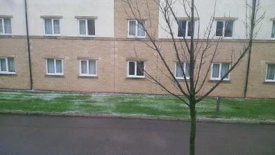 Photo: Первый британский снег