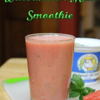 Creamy Watermelon Mint Smoothie