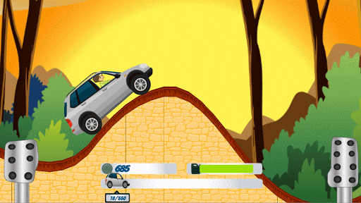 Hill Climb in Forest