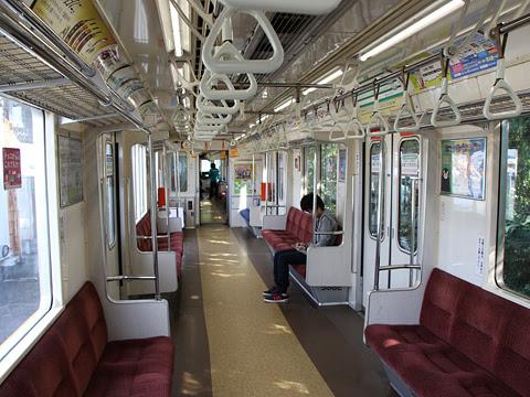 熊本電気鉄道 01形電車35編成 車内