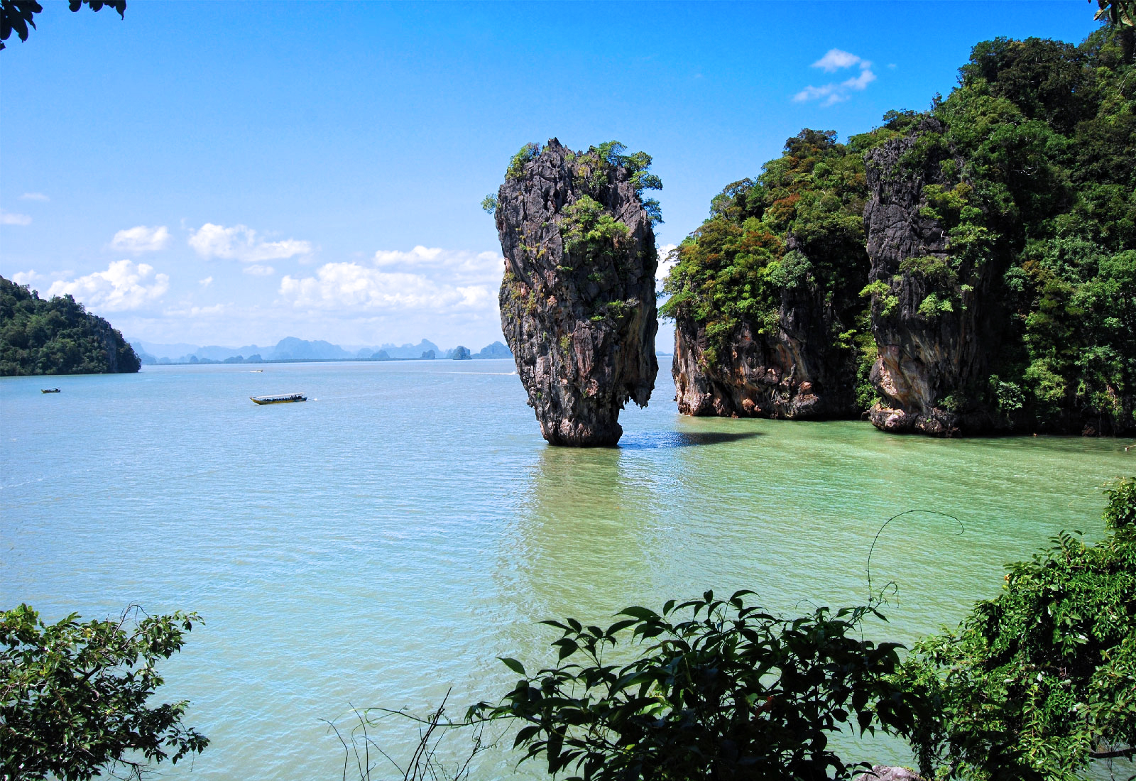 James Bond Island Sightseeing Tour from Krabi by Longtail Boat with Kayaking Option