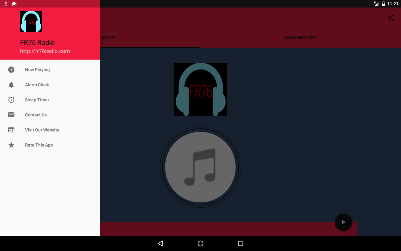 FR76 Radio- screenshot