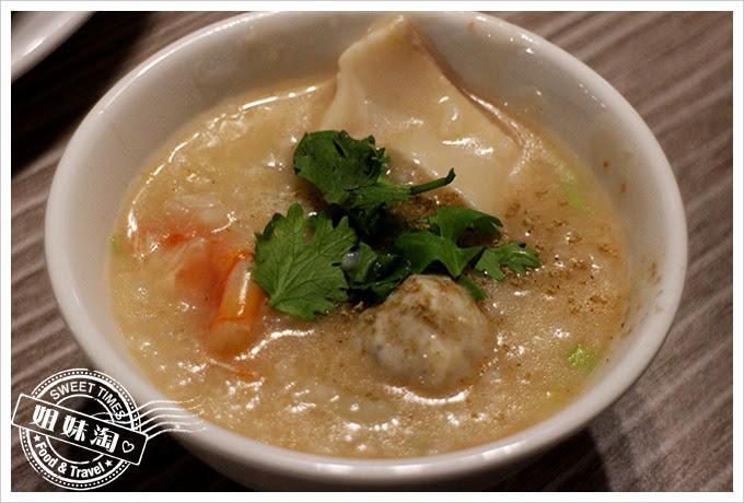 蔡家食堂潮州砂鍋粥極品鮑魚粥2
