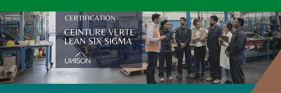 Certification Ceinture Verte Lean Six Sigma