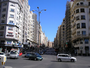 Photo: Gran Via - Madrid