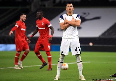 Antwerp moet wet van de sterkste ondergaan en verliest van Tottenham