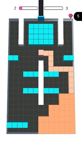 Color Blocks Fill u2013 3D Sayisfying Games u2013 puzzle 1.9.2 screenshots 1