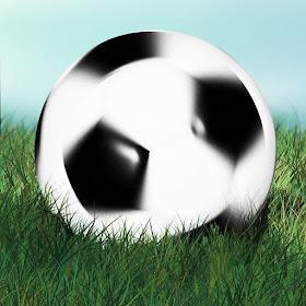 3D футбольное жонглирование