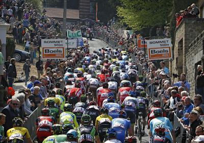 Twaalf beklimmingen in parcours van de Waalse Pijl: renners moeten onder meer drie keer over de Muur van Hoei