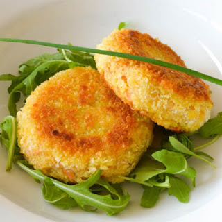Oven Baked Fish Cakes.