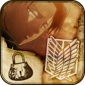 Attack on titan-LEVI-LOCK APP