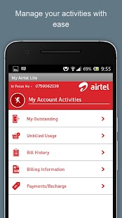 My Airtel Lite- screenshot thumbnail
