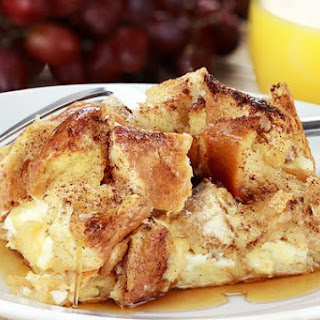 Cream Cheese French Toast Casserole Recipe