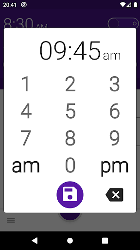 Pleasant alarm clock Malarm 2 screenshot 5