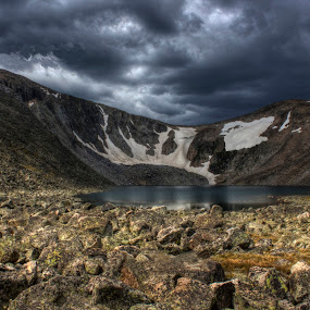 Minutes Before the Storm by Greg Harcharik - Landscapes Mountains & Hills