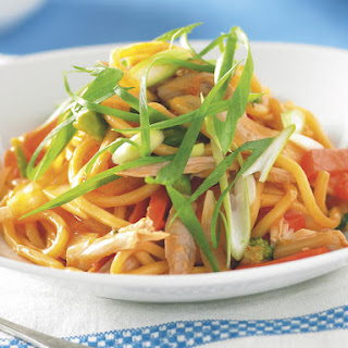 Sweet and Sour Chicken Noodle Stir-Fry.